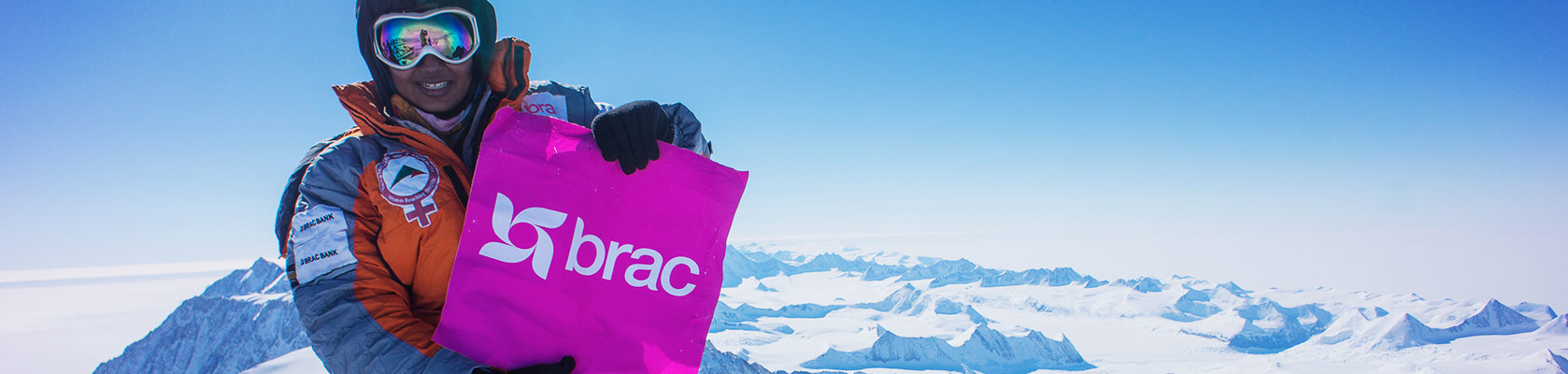 Wasfia Nazreen has climbed the highest mountains in 7 countries to celebrate women in BRAC