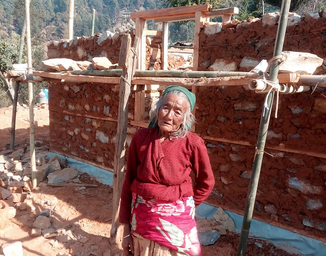 BRAC prepare to reconstruct 400 homes in Kavre, Nepal, for victims of the earthquake