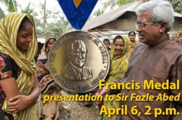 BRAC founder Sir Abed receives global health medal