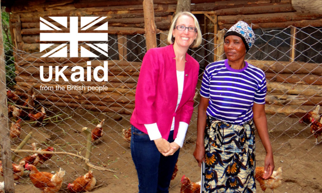 HE The British High Commissioner to Tanzania visits BRAC LEAD Project