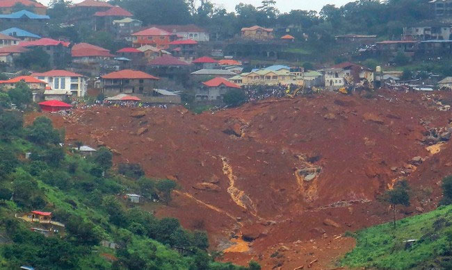 BRAC responds to Sierra Leone mudslide
