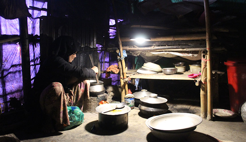 Lighting the lives of 46,000 Rohingya families