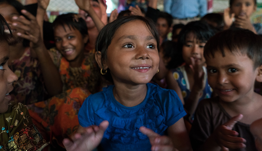 Bringing the power of learning through play to Rohingya children