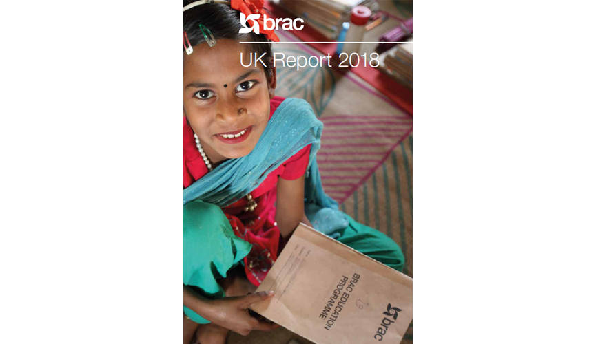 Presenting BRAC UK's 2018 Annual Report