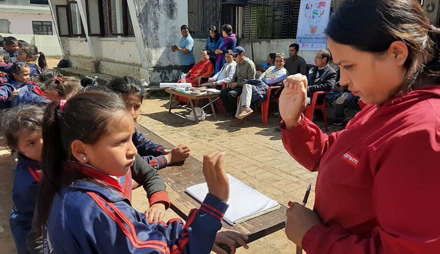 Sexual and Reproductive Health and Rights opportunities for young People with Disabilities in Nepal